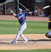 Omar Estevez - Los Angeles Dodgers 2020 spring training (Bill Mitchell)