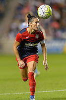 Chicago, IL - Saturday Sept. 24, 2016: Ali Krieger during a regular season National Women's Soccer League (NWSL) match between the Chicago Red Stars and the Washington Spirit at Toyota Park.