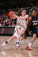 14 February 2008: Jeanette Pohlen during Stanford's 69-46 win over Arizona at Maples Pavilion in Stanford, CA.
