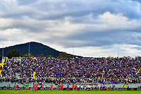 A view of the Fiesole stand during the Serie A 2021/2022 football match between ACF Fiorentina and SSC Napoli at Artemio Franchi stadium in Florence (Italy), October 3rd, 2021. Photo Andrea Staccioli / Insidefoto
