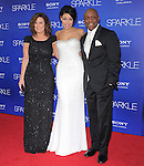 Jordin Sparks and her parents at The Tri Star Pictures World Premiere of SPARKLE held at The Grauman's Chinese Theatre in Hollywood, California on August 16,2012                                                                               © 2012 Hollywood Press Agency
