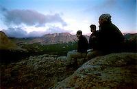 Viewing mountain range<br />
