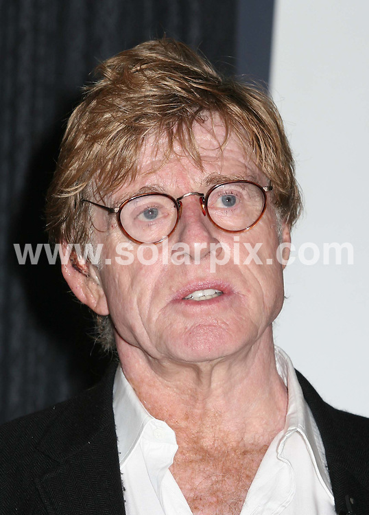 """ALL ROUND PICTURES FROM SOLARPIX.COM.Robert Redford announces a Global Filmmaking Initiative at the Museum of Television & Radio in New York on 08.11.06. Job Ref: 3072/PHZ..""""MUST CREDIT SOLARPIX.COM OR DOUBLE FEE WILL BE CHARGED"""".."""