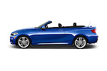 Car Driver side profile view of a 2015 BMW 2 Series 228i 2 Door Convertible Side View