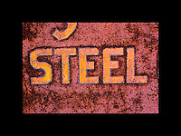 Industrial textures and abstracts - Gritty Steel