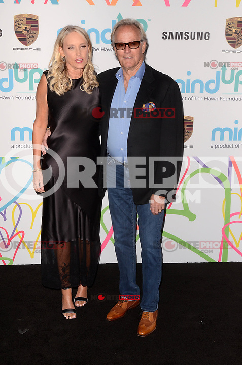 BEVERLY HILLS, CA - NOVEMBER 03: Parky Fonda, Peter Fonda at Goldie's Love In For Kids at Ron Burkle's Green Acres Estate on November 3, 2017 in Beverly Hills, California. Credit: David Edwards/MediaPunch