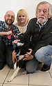 06/01/16<br /> <br /> Tim, Judith and Alan Gray with Holly at the PDSA Pet Hospital in Leicester.<br /> <br /> Holly is an 18-month-old Border Collie who was brought into PDSA's Leicester Pet Hospital suffering with acute peritonitis. Her chances of survival were as low as 1 in 10 but thanks to the tireless efforts of staff and three life-saving operations, Holly pulled through and is on the road to making a full recovery. Mr and Mrs Gray are extremely grateful for the care given by PDSA and their son Tim has even started a fundraising challenge – a dryathlon in January – to raise money for the charity.<br /> <br /> All Rights Reserved: F Stop Press Ltd. +44(0)1335 418365   +44 (0)7765 242650 www.fstoppress.com