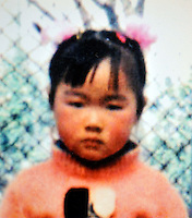 Peng Yu (4), born in July 2001. Missing outside Min Feng Market in Wuxi City of Jiangsu Province on 24 Mar 2005.    Girls in China are increasingly targeted and stolen as there is a shortage of wives as the gender imbalance widens with 120 boys for every 100 girls..PHOTO BY SINOPIX
