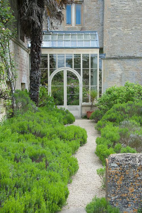 Conservatory at Rousham House.