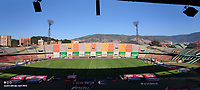 MEDELLIN - COLOMBIA, 30–01-2021: Panoramica del estadio Atanasio Girardot previo al partido de la fecha 3 entre Atletico Nacional y Deportivo Pereira, por la Liga BetPLay DIMAYOR I 2021 jugado en el estadio Atanasio Girardot de la ciudad de Medellin. / Panoramic view of the Atanasio Girardo Stadium prior a match of the 3rd date between Atletico Nacional and Deportivo Pereira, for the BetPLay DIMAYOR I 2021 League played at the Atanasio Girardot Stadium in Medellin city. / Photo: VizzorImage / Luis Benavides / Cont.