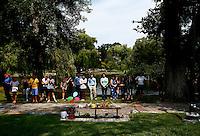 Robin Williams Boston Public Garden Good Will Hunting Bench Memorial