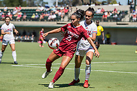 STANFORD, CA - SEPTEMBER 12: Samantha Williams during a game between Loyola Marymount University and Stanford University at Cagan Stadium on September 12, 2021 in Stanford, California.