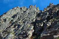 Two climbers, Central Gully, Coire an t-Sneachda and the Northern Corries, Cairngorm National Park, Badenoch and Speyside, Highland