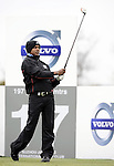 SUZHOU, CHINA - APRIL 15:  SSP Chowrasia of India tee off on the 17th hole during the Round One of the Volvo China Open on April 15, 2010 in Suzhou, China. Photo by Victor Fraile / The Power of Sport Images