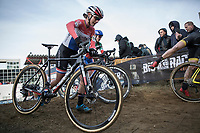 Marianne Vos (NED/WM3 Pro Cycling Team)<br /> <br /> Women's Race<br /> UCI CX World Cup Zolder / Belgium 2017