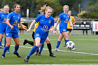 Erin Roxburgh of Southern during the Handa Women's Premiership - Capital Football v Southern United at Petone Memorial Park, Wellington on Saturday 7 November 2020.<br /> Copyright photo: Masanori Udagawa /  www.photosport.nz