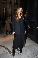 Bianca Brandolini d Adda<br /> Parigi 22/01/2020<br /> Settimana della moda di Parigi <br /> Moda Donna - Giorgio Armani Ospiti <br /> Photo Gwendolin Le Goff/Panoramic/Insidefoto <br /> Italy Only