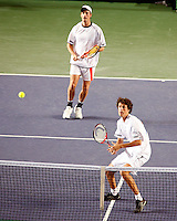 7-4-07, England, Birmingham, Tennis, Daviscup England-Netherlands, Rogier Wassen and Robin Haase in the doubles