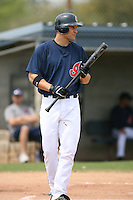 March 20th 2008:  Grady Sizemore of the Cleveland Indians during a Spring Training game at Chain of Lakes Park in Winter Haven, FL.  Photo by:  Mike Janes/Four Seam Images