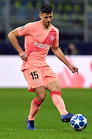 Clement Lenglet of Barcelona in action during the Uefa Champions League 2018/2019 Group B football match between Internazionale and Barcelona in San Siro stadium, Milano, November, 06, 2018 <br />  Foto Andrea Staccioli / Insidefoto