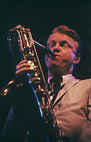 Gerry Mulligan at The Newport Jazz Festival (c.1960)
