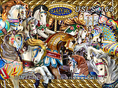 Lori, LANDSCAPES, LANDSCHAFTEN, PAISAJES, paintings+++++Crazy Carosel_Sunsout_27X20_2014_6_72,USLS164,#l#, EVERYDAY ,puzzle,puzzles