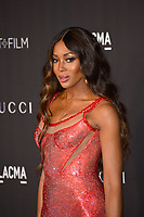 LOS ANGELES, USA. November 03, 2019: Naomi Campbell at the LACMA 2019 Art+Film Gala at the LA County Museum of Art.<br /> Picture: Paul Smith/Featureflash