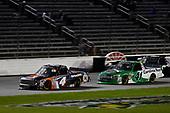 #4: Todd Gilliland, Kyle Busch Motorsports, Toyota Tundra JBL/SiriusXM, #41: Ben Rhodes, ThorSport Racing, Ford F-150 The Carolina Nut Co.