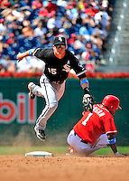 20 June 2010: Chicago White Sox second baseman Gordon Beckham in action during a game against the Washington Nationals at Nationals Park in Washington, DC. The White Sox swept the Nationals winning 6-3 in the last game of their 3-game interleague series. Mandatory Credit: Ed Wolfstein Photo