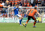 St Johnstone v Dundee United…22.08.21  McDiarmid Park    SPFL<br />Jamie McCart and Peter Pawlett<br />Picture by Graeme Hart.<br />Copyright Perthshire Picture Agency<br />Tel: 01738 623350  Mobile: 07990 594431