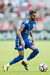 Leicester City FC midfielder Riyad Mahrez  in action during the Premier League Asia Trophy match between Leicester City FC and West Bromwich Albion at Hong Kong Stadium on 19 July 2017, in Hong Kong, China. Photo by Yu Chun Christopher Wong / Power Sport Images