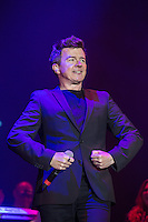Rick Astley performing during Rewind South, The 80s Festival, at Temple Island Meadows, Henley-on-Thames, England on 20 August 2016. Photo by David Horn.
