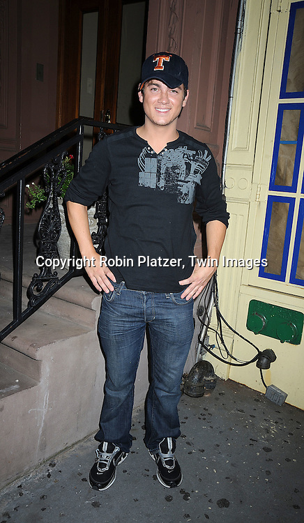 Brandon Buddy..at Justis Bolding's Fan Club Event on August 16, 2008 at ..Prohibtion in New York City. ....Robin Platzer, Twin Images