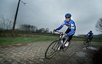Paris-Roubaix 2012 recon..last years winner: Johan Van Summeren