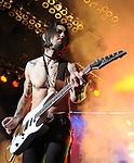 Dave Navarro of Jane's Addiction live at Verizon Wireless Ampitheatre as part of the NIN/JA Tour in Irvine, California on May 20,2009                                                                     Copyright 2009 Debbie VanStory / RockinExposures