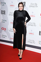 Imogen Thomas<br /> arriving for the Float Like a Butterfly Ball 2019 at the Grosvenor House Hotel, London.<br /> <br /> ©Ash Knotek  D3536 17/11/2019