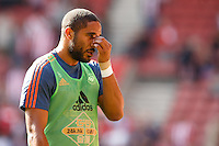 Ashley Williamslooks dejected during the Barclays Premier League match between Southampton v Swansea City played at St Mary's Stadium, Southampton