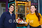 Clodagh and Sarah Dermody,  with one of the delicious waffles they make at the new Coffee and Waffle take away restaurant Hugga Mugga  in Killarney on  Monday