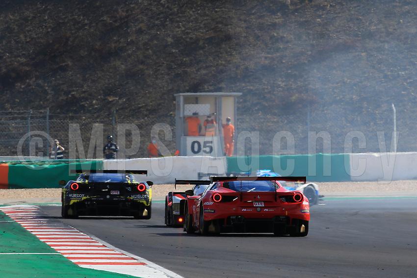 #88 AF CORSE (ITA) FERRARI 488 GTE EVO LMGTE FRANÇOIS PERRODO (FRA) EMMANUEL COLLARD (FRA) ALESSIO ROVERA (ITA)