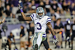 Kansas State Wildcats wide receiver Chris Harper (3) in action during the game between the Kansas State Wildcats and the TCU Horned Frogs at the Amon G. Carter Stadium in Fort Worth, Texas. Kansas State defeats TCU 23 to 10....