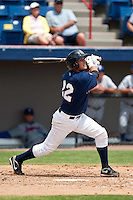 April 11th 2010: Anedrson De La Rosa of the Brevard County Manatees, the Florida State League High-A affiliate of the Milwaukee Brewers in a game against the of the Daytona Cubs, the Florida State League High-A affiliate of the Chicago Cubs at Space Coast Stadium in Viera, FL (Photo By Scott Jontes/Four Seam Images)