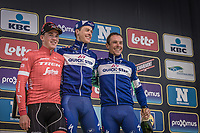 Podium: <br /> <br /> 1. Niki Terpstra (NED/Quick Step Floors)<br /> 2. Mads Pedersen (DEN/Trek Segafredo)<br /> 3. Philippe Gilbert (BEL/Quick Step Floors)<br /> <br /> <br /> 102nd Ronde van Vlaanderen 2018<br /> 1day race: Antwerp › Oudenaarde - BEL (265k)