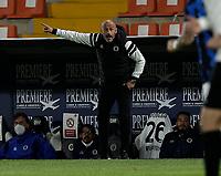 Vincenzo Italiano  during the  italian serie a soccer match,Spezia Inter Milan at  the STadio Picco in La Spezia Italy ,