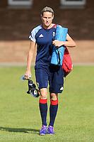 Kelly Smith - Team GB Women training at Cardiff University, Cardiff, Wales - 27/07/12 - MANDATORY CREDIT: Gavin Ellis/SHEKICKS/TGSPHOTO - Self billing applies where appropriate - 0845 094 6026 - contact@tgsphoto.co.uk - NO UNPAID USE.