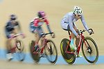 Pang Yao of the IND competes in the Women Elite - Pointe Race 20km Final category during the  Hong Kong Track Cycling National Championships 2017 at the Hong Kong Velodrome on 18 March 2017 in Hong Kong, China. Photo by Chris Wong / Power Sport Images