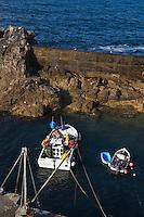 Europe/France/Bretagne/29/Finistère/ Plogoff: Port abri de Bestrée env de la Pointe du Raz