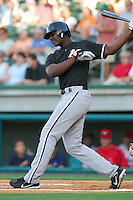 4 June 2007: Photo of the Kannapolis Intimidators, Class A South Atlantic League affiliate of the Chicago White Sox, in a game against the Greenville Drive at West End Field in Greenville, S.C. Photo by:  Tom Priddy/Four Seam Images