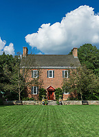 The original mansion house built for Mr. and Mrs. Lammot du Pont Copeland, Mt. Cuba Center, Delaware, USA.
