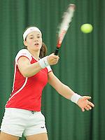 15-3-09, Rotterdam, Nationale Overdekte Jeugdkampioenschappen 12 en 18 jaar, Angelique van der Meet