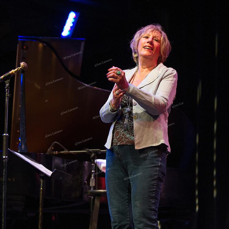 Norma Winstone at Performance Works, June 21, 2014 TD Vancouver International Jazz Festival